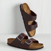 Festival Strappy Camper Sandal in Wine by Birkenstock from ModCloth