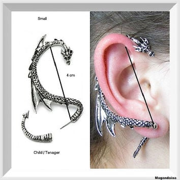 Best dragon ear cuff products on wanelo - Game of thrones dragon ear cuff ...