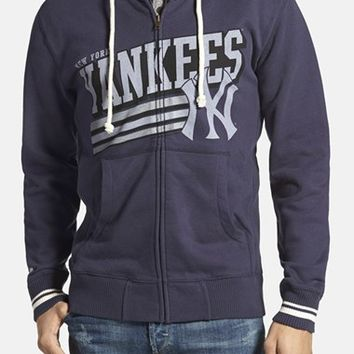 Men's Mitchell & Ness 'New York Yankees' Tailored Fit Full Zip Hoodie