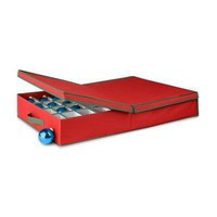 Ornament Storage Box Wdividers
