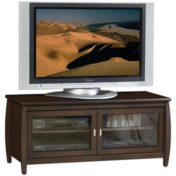 48-Inch Wide TV Stand / Entertainment Center in Walnut Finish