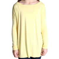 Yellow Piko Kids Long Sleeve Top