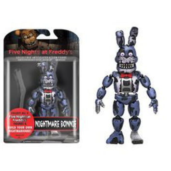 FIVE NIGHTS AT FREDDY'S - NIGHTMARE BONNIE ACTION FIGURE