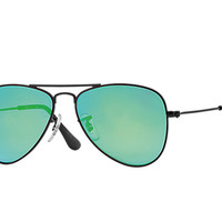 Look who's looking at this new Ray-Ban Aviator Junior