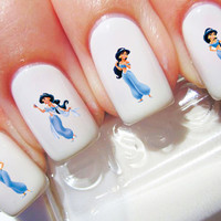 Aladdin Princess Jasmine Disney Nail Decals