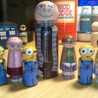 The Despicable Me Gang, with Minions and Orphans