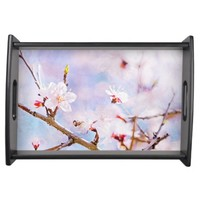 Japanese Cherry - Sakura In Bloom Food Tray