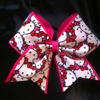 "3"" Hello Kitty Cheer Bow"