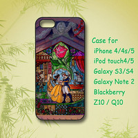 beauty and The Beast - iPhone 4 Case, iPhone 5 Case, ipod case, Samsung Galaxy S4, Samsung Galaxy S3, Samsung note 2, blackberry z10, Q10