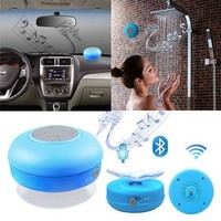 KSRplayer® Mini Portable Waterproof Wireless Bluetooth Speaker, Blue