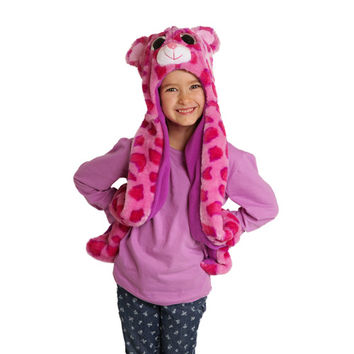 Ty Beanie Boos Glamour the Leopard Hooded Critter Scarf