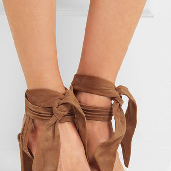 Jimmy Choo - Kora suede sandals