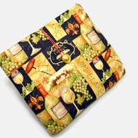 Hand Crafted Tablet Case from Red Wine Fabric/Case for:iPad,Kindle Fire HDX,Samsung Galaxy Tab, Google Nexus, iPad Air, Nook HD