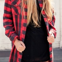 VALENTINA FLANNEL DRESS