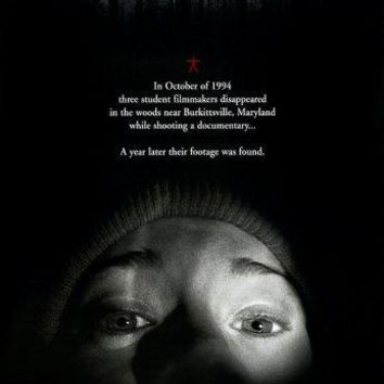 Blair Witch Project movie poster Sign 8in x 12in