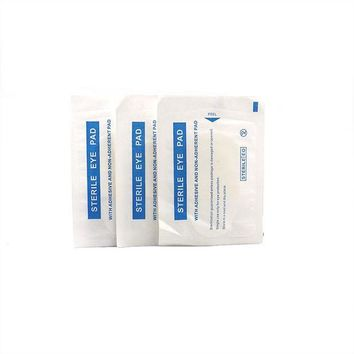 ONETOW 30Bags/Lot Sterile Medical Eye Patch first aid supplies Postoperative Stickers Dressing Pads Nonwowen Eye Pad Eyes Surgery