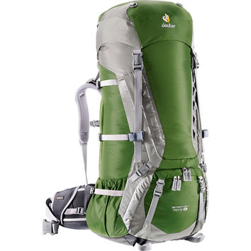 Deuter Aircontact 70 +10 SL Backpack - Women's - 4270cu in Pine/Silver, One