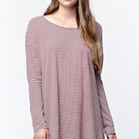 Volcom Lived In Stripe Shirt Dress at PacSun.com