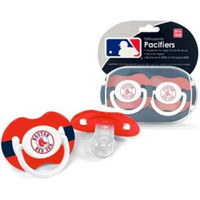 Boston Red Sox MLB Baby Pacifiers (2 Pack)