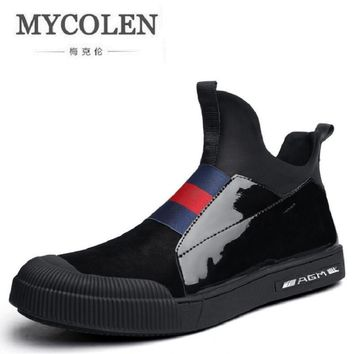 MYCOLEN Men Shoes New Arrival Spring/Autumn Slip-on Casual Shoes For Men Fashion Brand Lazy Male Shoes Footwear zapatos