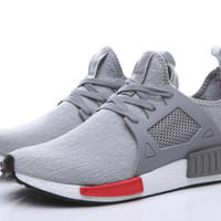 ADIDAS NMD Women Men Running Sport Casual Shoes Geometric Sneakers