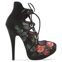 Vivienne Westwood Anglomania Scarlet in Black Multi at Solestruck.com