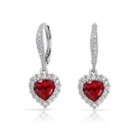 Bling Jewelry Passionate Earrings