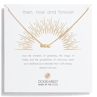 Dogeared Then Now & Forever Pendant Necklace | Nordstrom