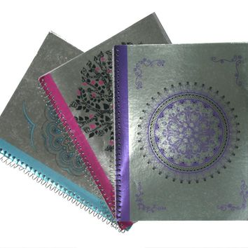Metallic 1-Subject College Ruled Spiral Notebook - CASE OF 48