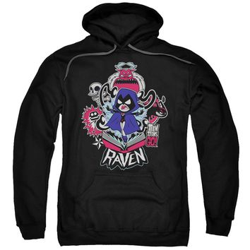 Teen Titans Go - Raven Adult Pull Over Hoodie Officially Licensed Apparel