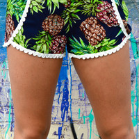 Savannah Pineapple Shorts