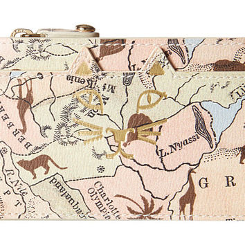 Charlotte Olympia Feline Coin Purse Map Print - Zappos.com Free Shipping BOTH Ways