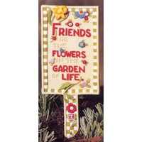 Friends Are the Flowers in the Garden of Life-Mary Engelbreit