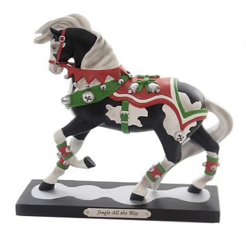 Trail Of Painted Ponies JINGLE ALL THE WAY Christmas Bells Horse 6002724Le