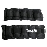 6 lbs Comfort Fit Ankle Weight Sets - Strap style - ²SZ1CZ