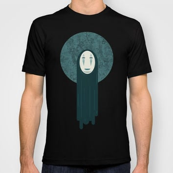 Spirited away, no face T-shirt by Lewys Williams