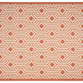 Blanche Outdoor Rug, Terracotta, Area Rugs
