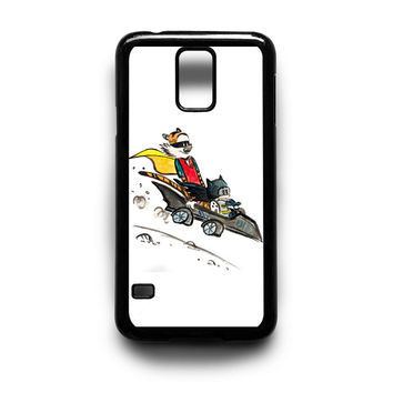 Calvin batman and Hobbes Robin Samsung Galaxy S3 S4 S5 Note 2 3 4 HTC One M7 M8 Case