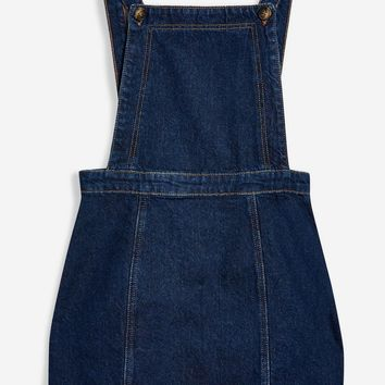 Denim Pinafore Dress | Topshop