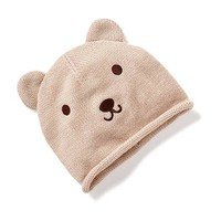 Sweater-Knit Bear Beanie for Baby | Old Navy