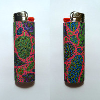 Psychedelic Paisley Nug Custom Lighter