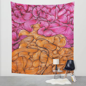 Woven Together Wall Tapestry by DuckyB (Brandi)