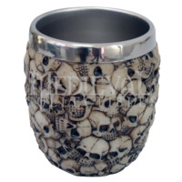 Pile of Skulls Rinse Cup - CC9151 by Medieval Collectibles