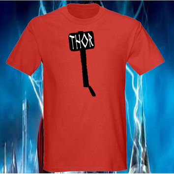 Cool Thor Hammer Shirt - Choose Unisex, Women, Youth and Color