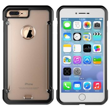 Dir-Maos For iPhone 8 Plus Case 5.5'' Beatles Strong ARMOR Shock Proof Anti Scratch Skid Clear Panel Fashion SURFACE Slim Cover