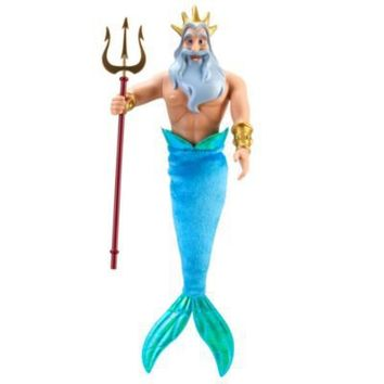 The Little Mermaid King Triton Doll -- 12'' H | Dolls | Disney Store