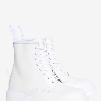 Dr. Martens 1460 8-Tie Boot - White