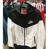 """NIKE""Autumn sports windbreaker coat"