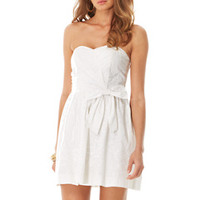 Henrietta Strapless Sweetheart Dress - Lilly Pulitzer