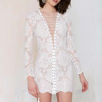 The Jetset Ruins Lace Dress